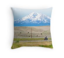Shasta Ride Throw Pillow