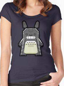 Robo Totoro Women's Fitted Scoop T-Shirt