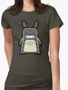 Robo Totoro Womens Fitted T-Shirt