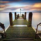 Aberystwyth Pier by Ben Ryan
