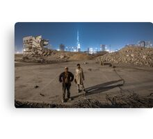 Get the steel out Canvas Print