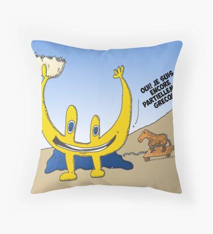 infos options binaires en bd Throw Pillow