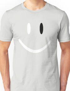 BLACK EYED SMILEY FACE Unisex T-Shirt