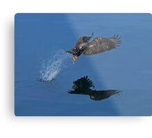 On Eagle's Wings Metal Print