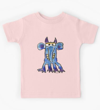 Funny Cartoon MonSTAR Monster 005 Kids Tee