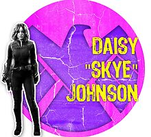 "Daisy ""Skye"" Johnson Grunge by sarahmosc"