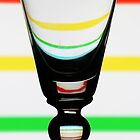 Stripey Glass by David W Bailey