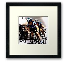 The Beauty of Speed  Framed Print