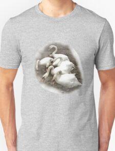SWANS (NATURAL)   TEE/BABY GROW/STICKER Unisex T-Shirt