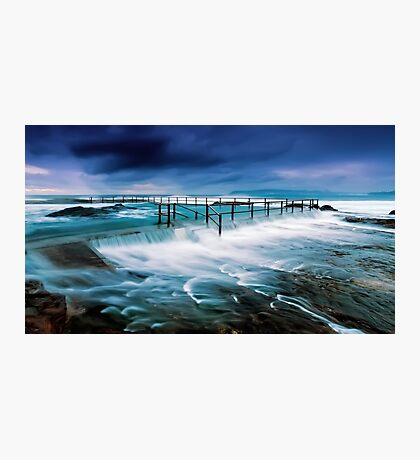 Tempest at the Baths Photographic Print