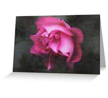 Grunge Blush Greeting Card