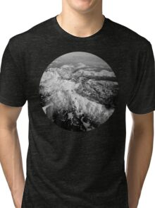 Winter Mountain Range Tri-blend T-Shirt