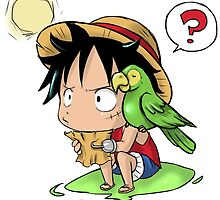 Luffy by PsychoDelicia