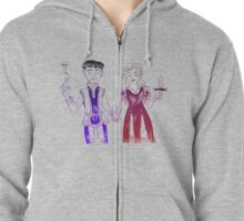 Romeo and Juliet Zipped Hoodie