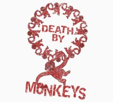 Death by 12 monkeys Kids Clothes