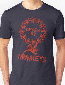 Death by 12 monkeys T-Shirt