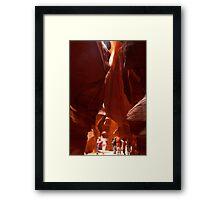 Deliverance - Navajo Style ©  Framed Print