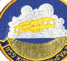 USS Kitty Hawk (CV-63, CVA-63) Crest Sticker