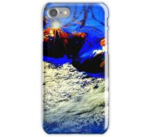 Autumn Rush - In Royal Blue iPhone Case/Skin