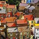 Huddled Together in Staithes by hebrideslight