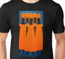 Orange Caribbean Unisex T-Shirt