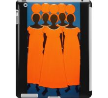 Orange Caribbean iPad Case/Skin