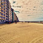 Ostende beachwalk in Belgium by Steelglove