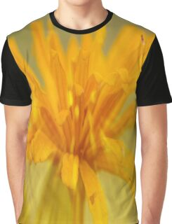 Zinnia Gold Graphic T-Shirt