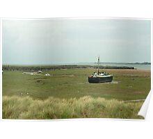Boats at Askam 002 Poster