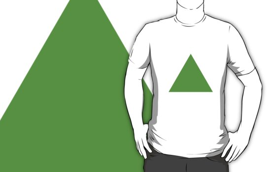 Triangle (Green) by cadellin