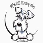 White Schnauzer :: It's All About Me by offleashart
