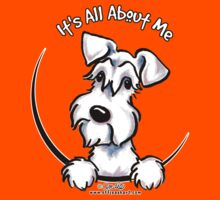 White Schnauzer :: It's All About Me Kids Tee