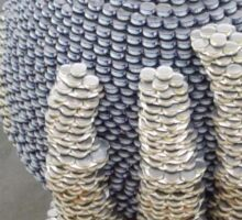Can Sculpture, Canstruction, Sculptures Made of Cans, New York City Sticker