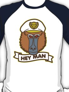 Hey Man Baboon T-Shirt
