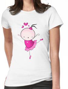 lovely Ballet dance 1 Womens Fitted T-Shirt