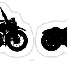 History of Harley Davidson Sticker