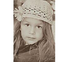 Vintage Eyes Photographic Print