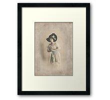 Vintage Fashion 3 Framed Print