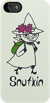 Snufkin Outline by Earth-Gnome