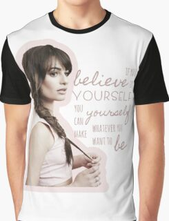 Believe In Yourself - Lea Michele Graphic T-Shirt