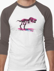 Drip Dry T-Rex Men's Baseball ¾ T-Shirt