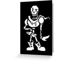 undertale - skeleton Greeting Card