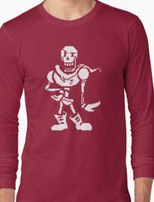 undertale - skeleton Long Sleeve T-Shirt