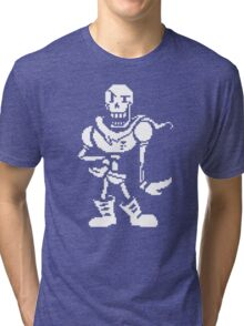 undertale - skeleton Tri-blend T-Shirt