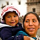 Faces of Ecuador 7  by Sue Ratcliffe