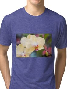 yellow orchid Tri-blend T-Shirt