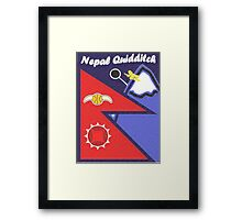 Nepal Quidditch Framed Print