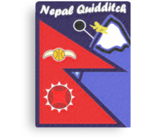 Nepal Quidditch Canvas Print