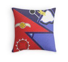 Nepal Quidditch Throw Pillow