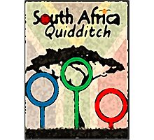 South Africa Quidditch Photographic Print